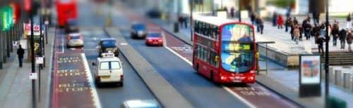 дорожная обстановка в Лондоне
