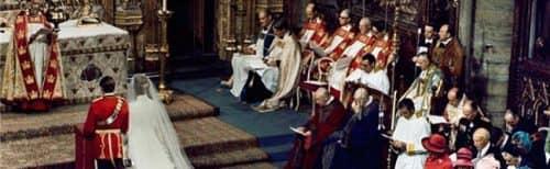 свадьба в былые времена в Англии