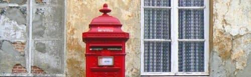почтовый ящик в Англии
