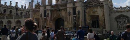 Учёба студентов в лондонском колледже