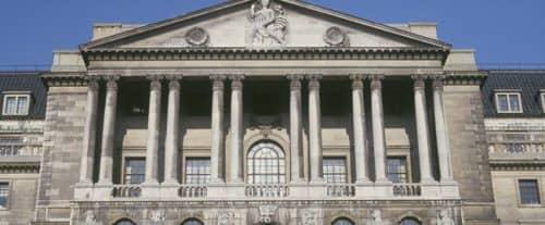 Здание одного из старейших банков в Англии