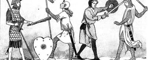 оруженосцы и рыцари