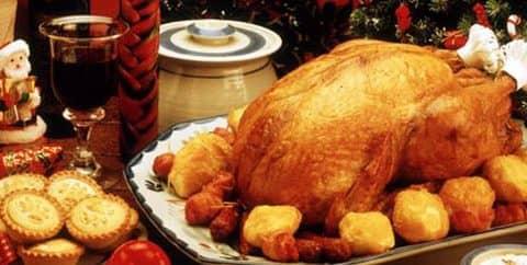 популярные рождественские блюда в Англии