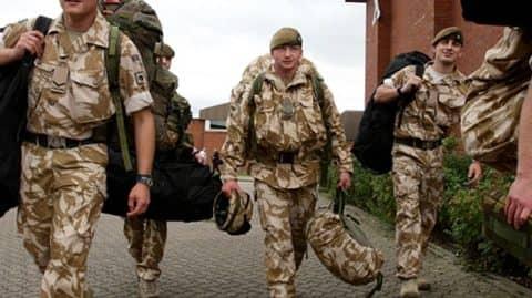 вооруженные силы Англии