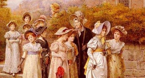картины художников Англии