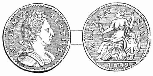 разменная монета Великобритании