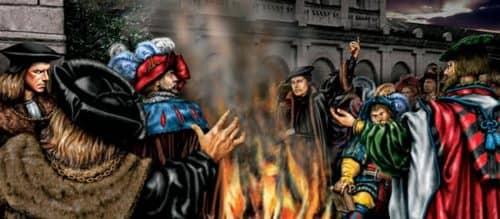 Реформация в Англии (иллюстрация)