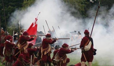 Гражданская война в Англии: история