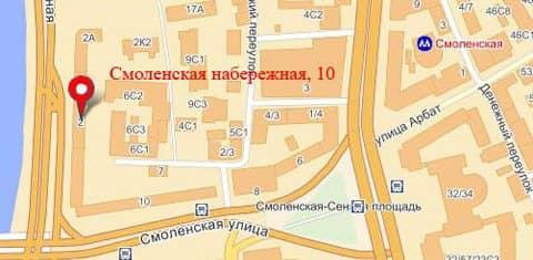 Визовый центр Англии в Москве: адрес и карта