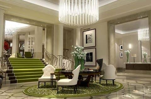 интерьер гостиницы Лондона