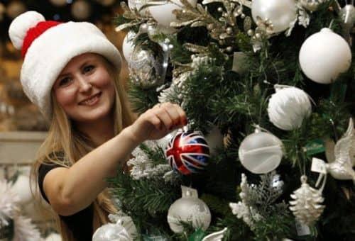 Рождество в семьях в Англии