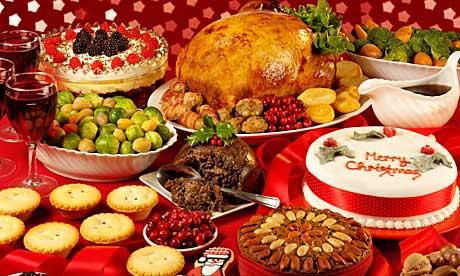 Рождественский обед в Англии