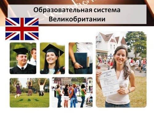 Образовательная система в Англии: основные элементы