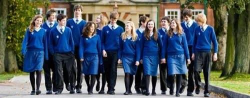 Выпускники школ-пансионов в Англии