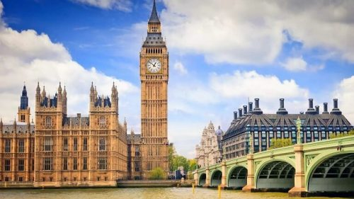 Башня Биг Бен в Лондоне