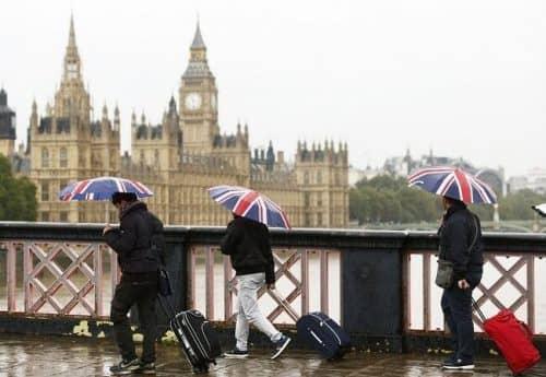 Дождь в Англии