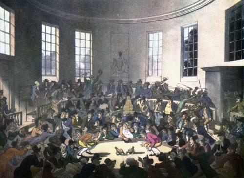 Петушиные бои лондон 17 век