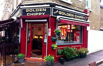 Ресторан The Golden Chippy