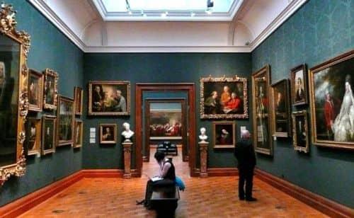 Интересное в музее Лондона