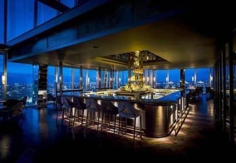 Ресторан Aqua Shard
