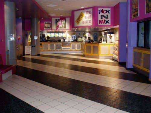 Внешний вид кинотеатра