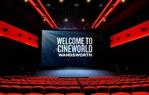 Кинотеатр Cineworld Wandsworth